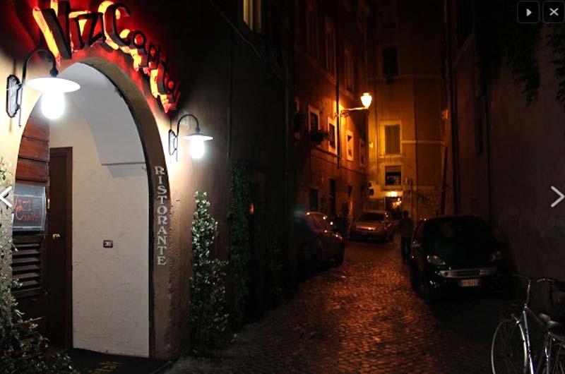 Vizi Capitali. ristorante a roma