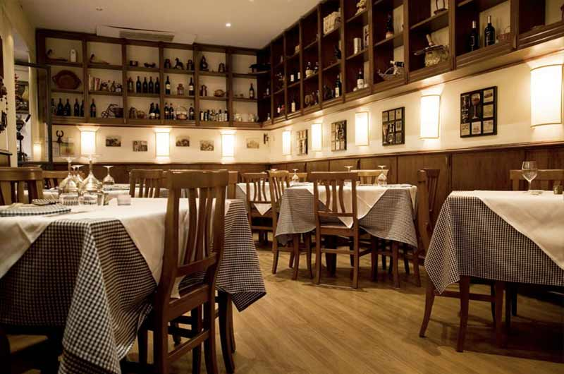 Taverna parioli cucina romana in zona parioli a roma for Cucina romana antica