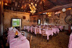 Atmosfera caratteristica de La Taverna