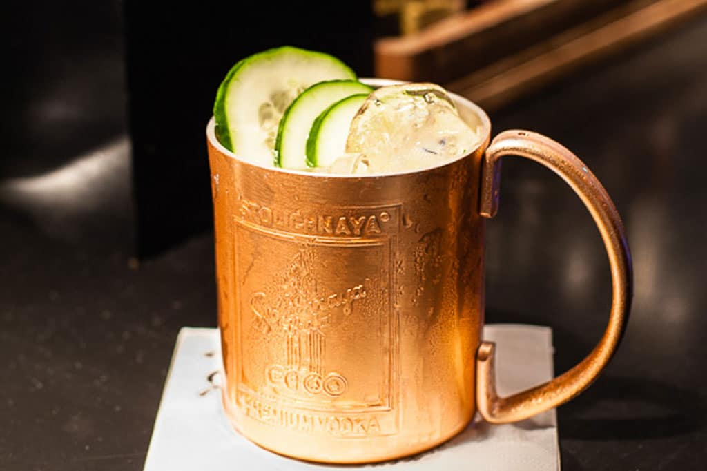 Il cocktail Moscow mule