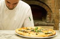 La pizza del Ristorante Pizzeria Le Finestre