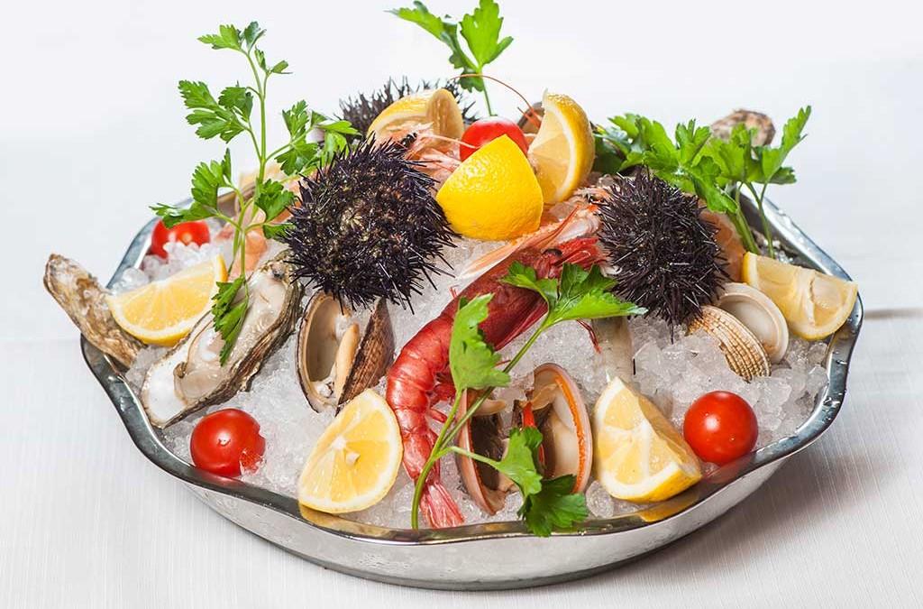 Trionfo di crudi di pesce