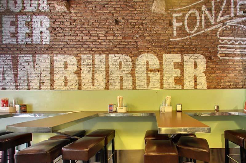 fonzie burgers house kosher, Fonzie - the Burger's House Kosher, ristorante di Roma, mangiare a Roma, ristoranti di roma, mangiare kosher, ristorante kosher