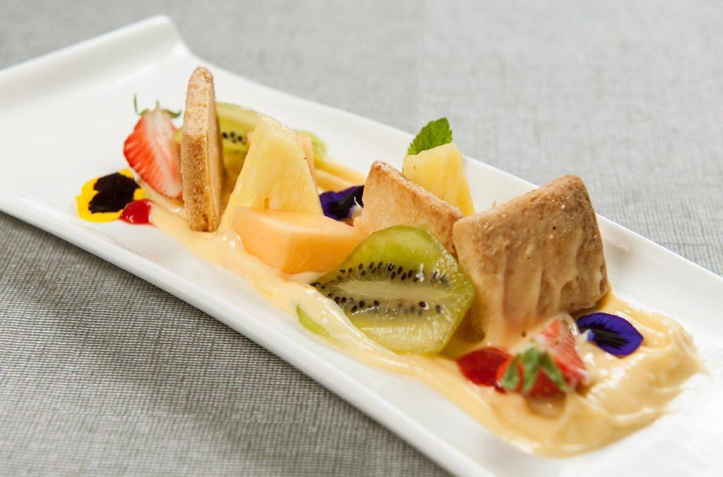 Crostata di frutta allo zenzero