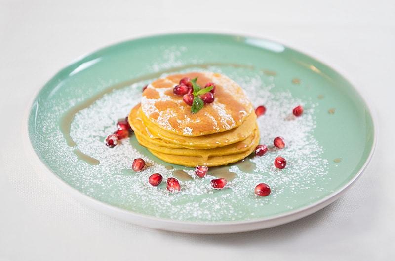 Pancake al melograno