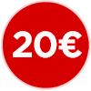 bollino prezzo 20 euro, venti euro, ristorante a 20 euro