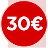 bollino prezzo 30 euro, trenta euro, ristorante a Roma a 30 euro