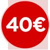 bollino prezzo 40 euro, quaranta euro, ristorante a 40 euro